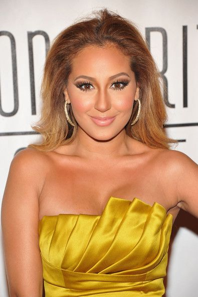 Luxurious glitter and glamour Adrienne Bailon ...  Fabulous Hairstyles...   In 2005, she appeared in the film Coach Carter portraying the role of Dominique
