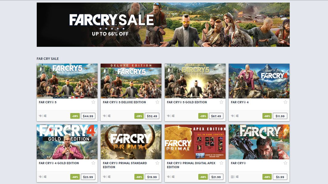 Snag Far Cry games for cheap during Humble Store's Far Cry Sale - Game  Deals 365Game Deals 365