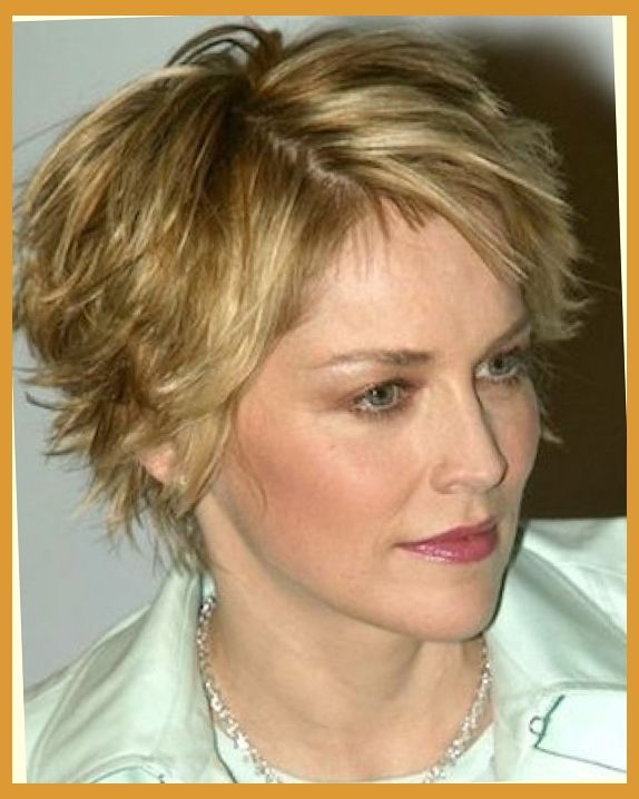 Short Hairstyles For Older Women | Short Layered Hairstyles, Older ...