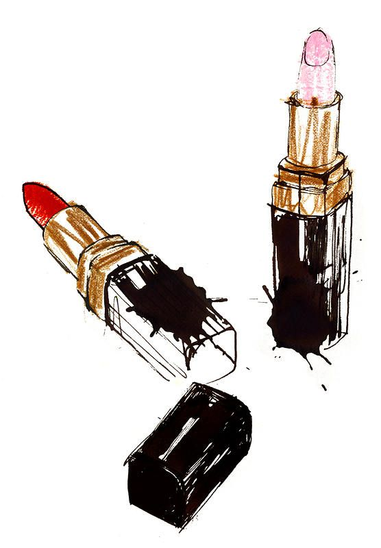 Good use of illustration...high end Chanel, 2010 | Truth ...
