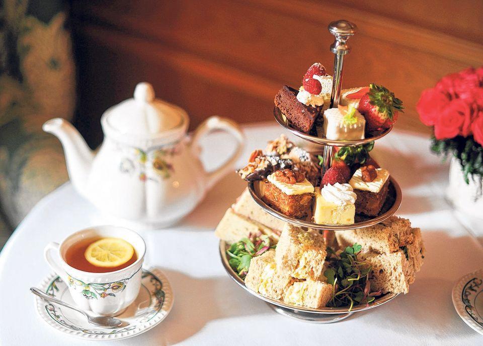 tea party time - photo #46