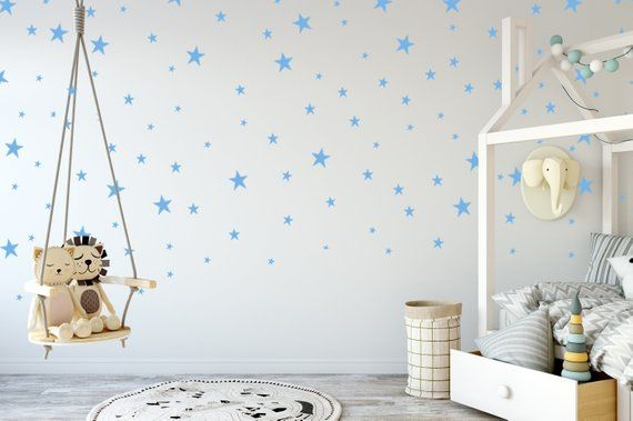 Star Wall Decals, Star Wall Stickers, Nursery Wall Decal,Kids Room