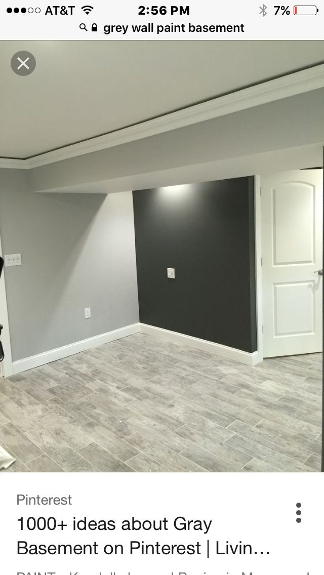 Basement Grey Floors Grey Walls Maybe Blue Or Black Sofa With Accent Colors Maybe Purple For Ravens Or Grey Flooring Small Basement Remodel Grey Walls
