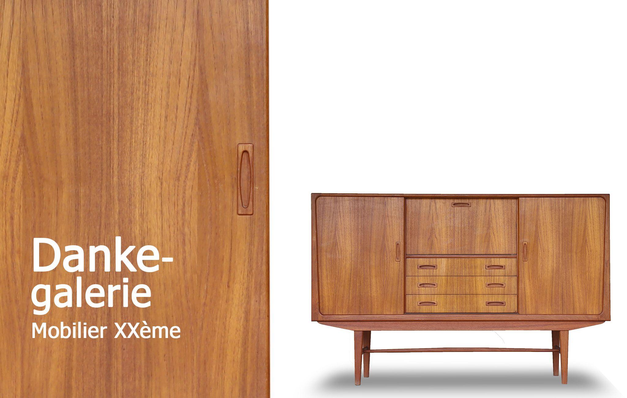 Danke Galerie Mobilier Vintage Design Scandinave Danois D Coration  # Mobilier Scandinave