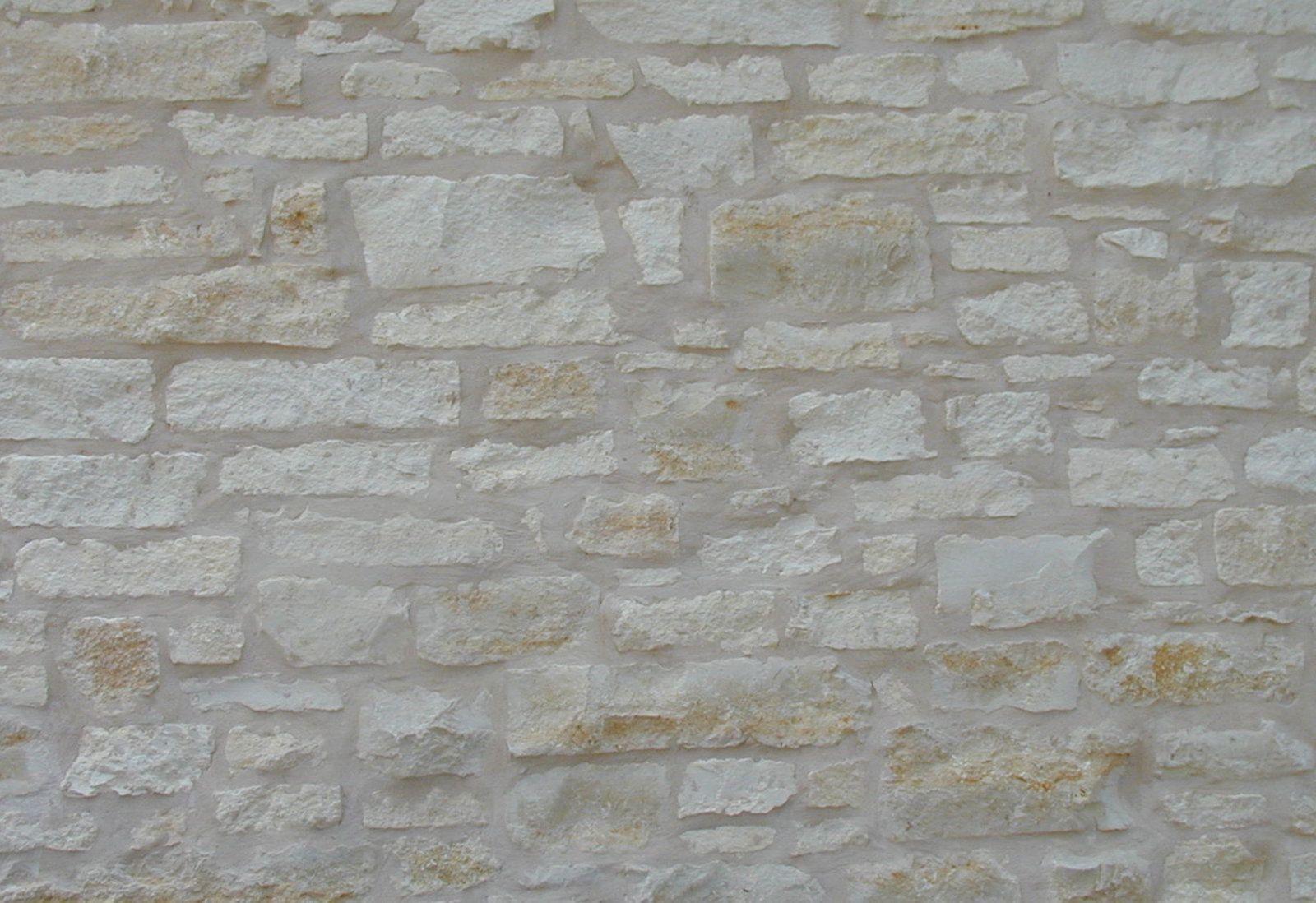texas stone products  cream limestone hand chop