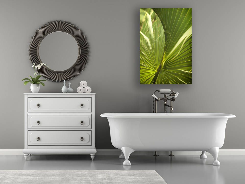Palm Leaf Photo Print, Palm Art Print, Spa Art, Bathroom Decor, Spa Decor, Bathroom  Art Print, Spa Art Print, Plant Art, Nature Art, Plants