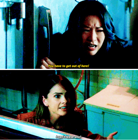 "Teen Wolf Season 5B Episode 16 ""Lie Ability"" Malia Tate and Kira Yukimura"