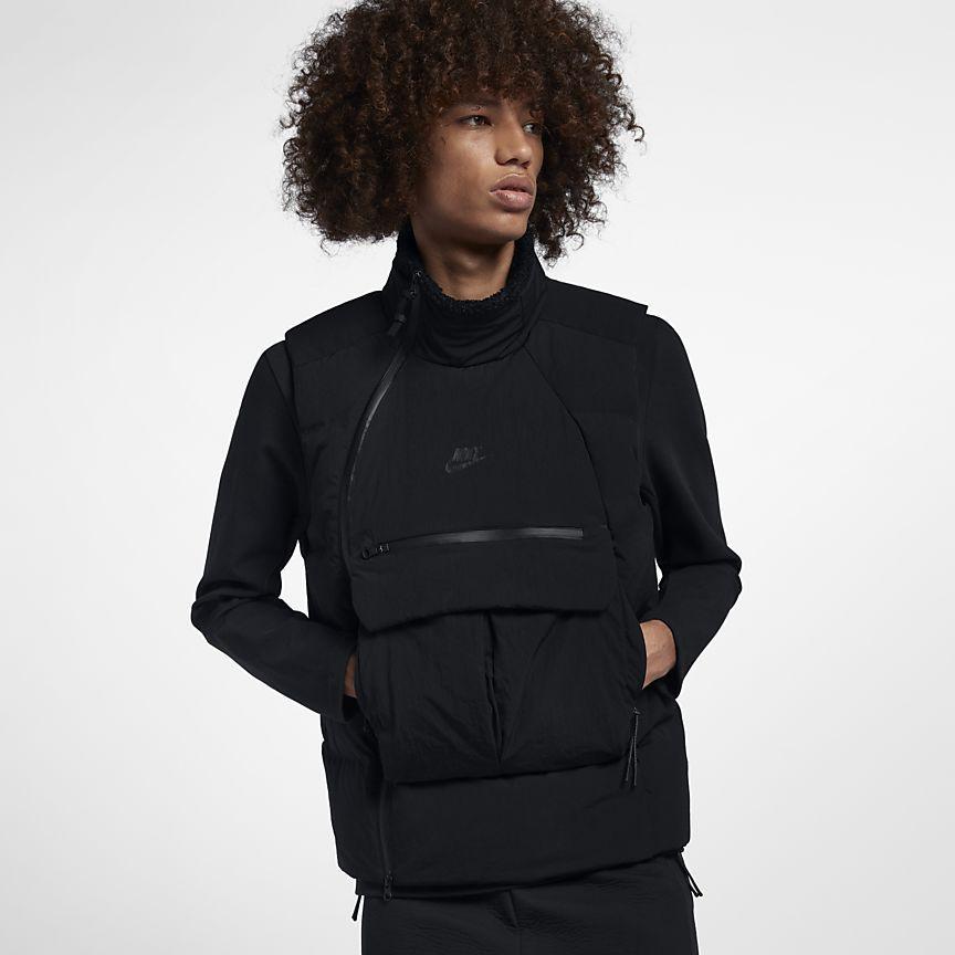 08e56344 Nike Sportswear Tech Pack Down-Fill Men's Vest   gear in 2019   Nike ...