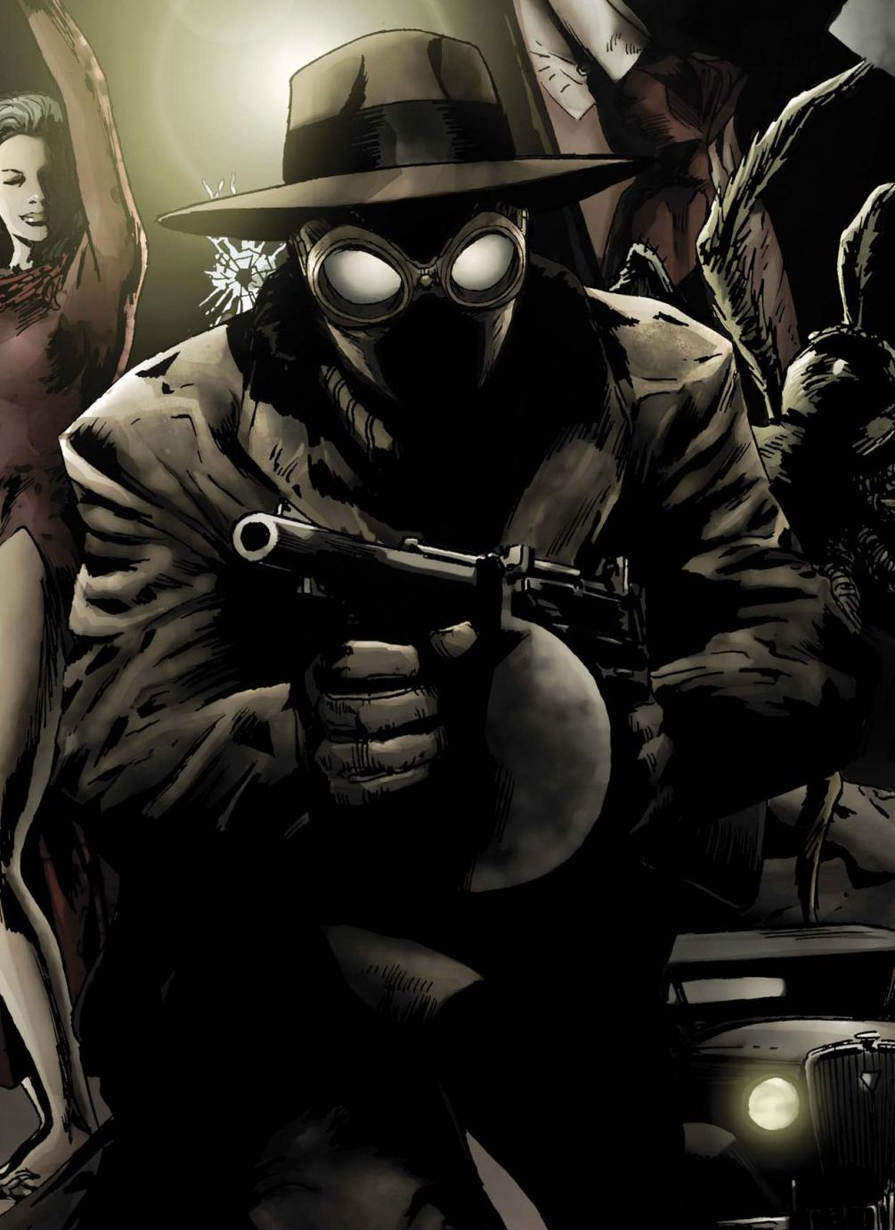 film noir wallpaper | marvel comics spiderman noir | i am darkness