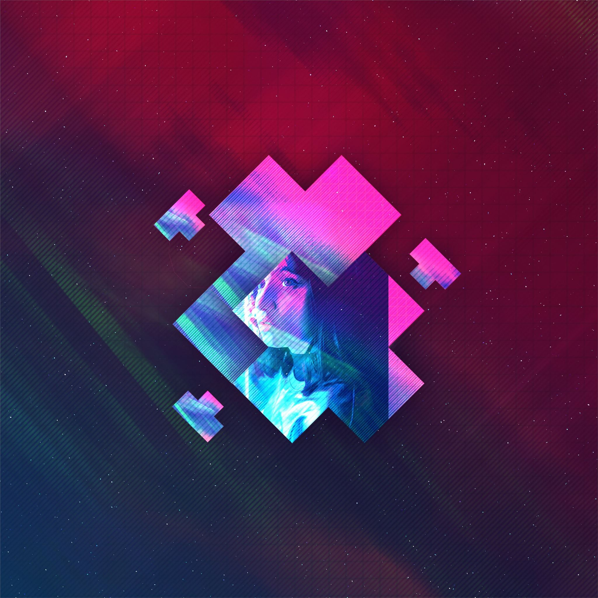 Abstract Outrun Girl 4k Ipad Air Wallpapers In 2020 With Images Ipad Air Wallpaper Abstract Wallpaper