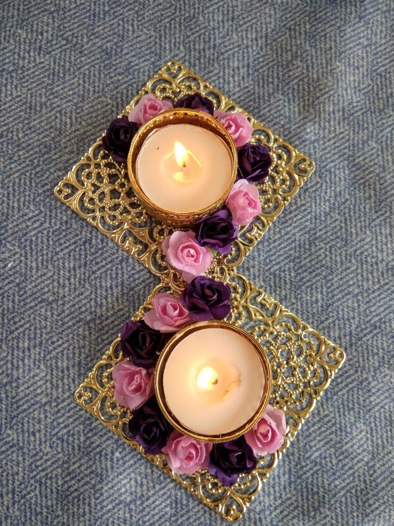 Floral diya for Diwali WhatsApp 7700045729 Diwali
