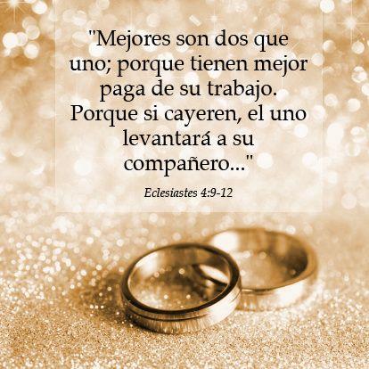 Mejores Son Dos Que Uno Frases Para Matrimonios Cristianos Frases Para Matrimonio Matrimonio Frases