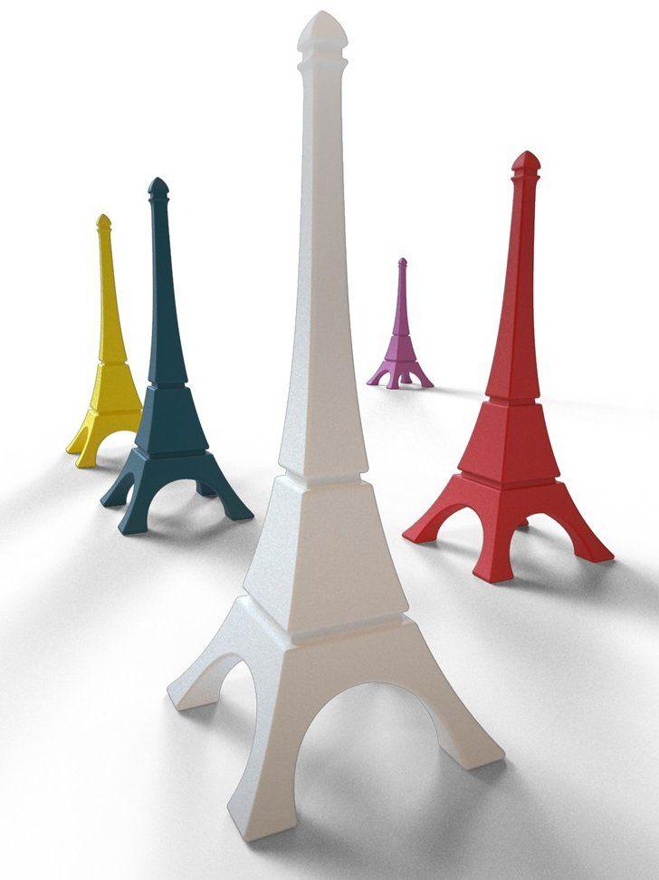 Decorative lighting for Public Areas #Eiffel Tower by @Qui McClinton Est Paul | #Design Arnaud Anseeuw #toureiffel #colour