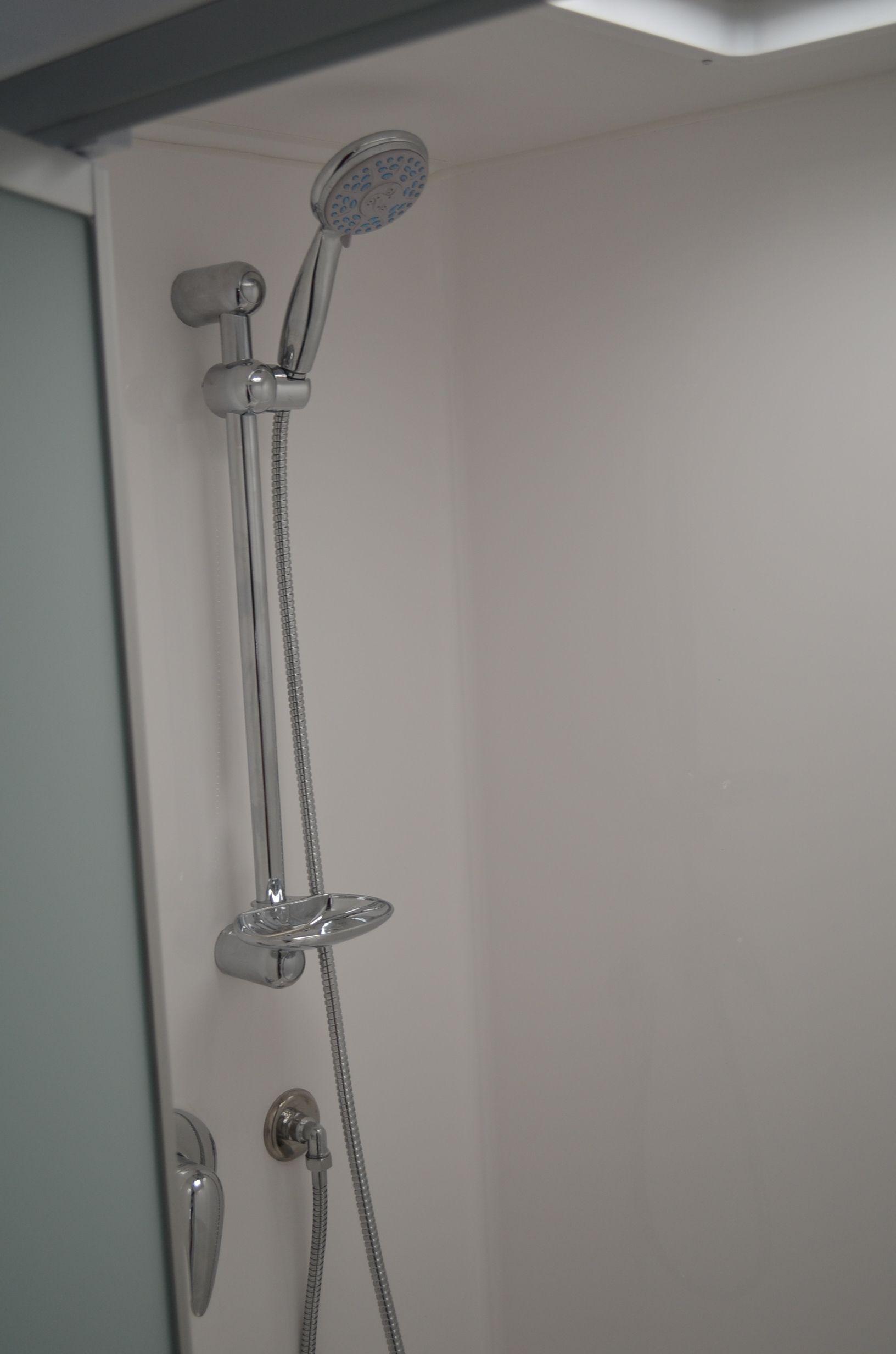 one piece fibreglass shower mould. | Aura Strata Grey 20ft ...