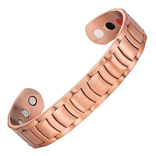 Willis Judd Mens Pure Copper Magnetic Therapy Ajule Bracelet Bangle Read More Reviews Of The Product By Visiting Link On Image