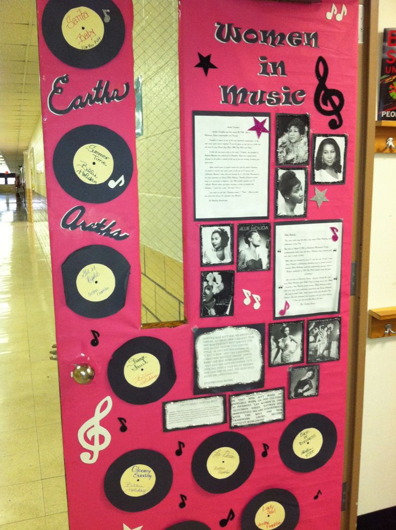 Black History Month Door Decorating Cultural Competency Black