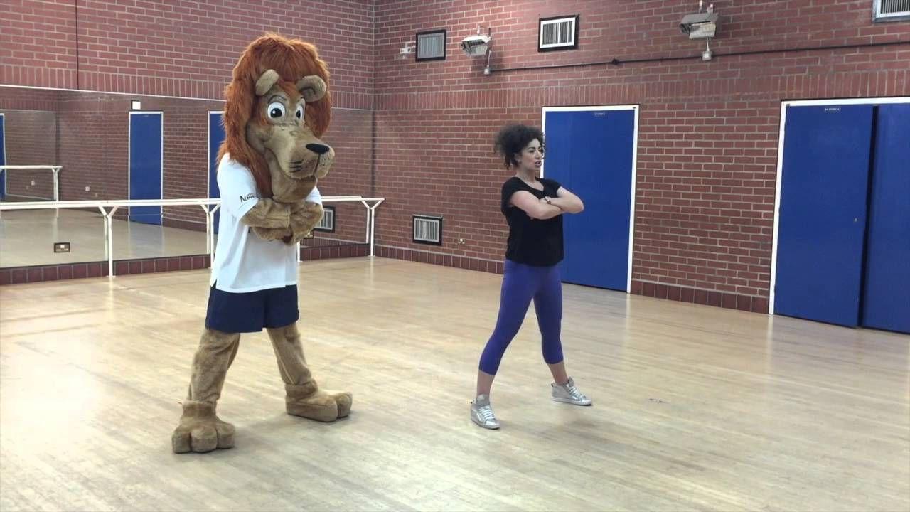 Humfrey does International Dance Day