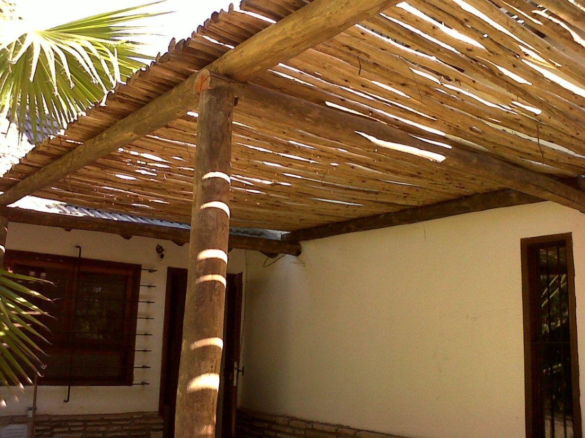 Techo de madera para garaje economico buscar con google - Postes para pergolas ...