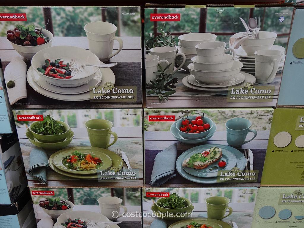 Lake Como Dinnerware Set Costco & Lake Como Dinnerware Set Costco | dinnerware | Pinterest | Lake como ...