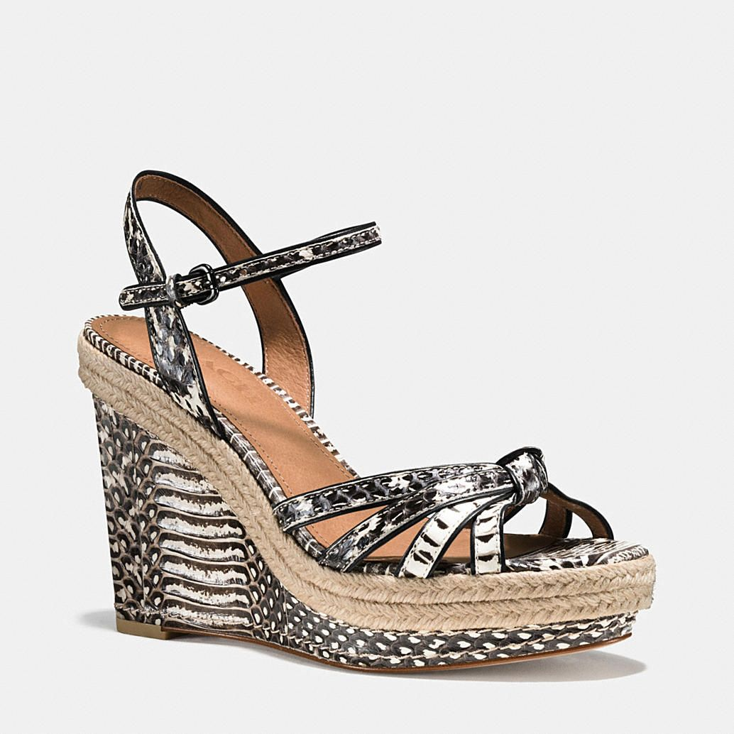 cc31753befb1f Shop The COACH Dalton Snake Espadrille. Enjoy Complimentary Shipping    Returns! Find Designer Bags
