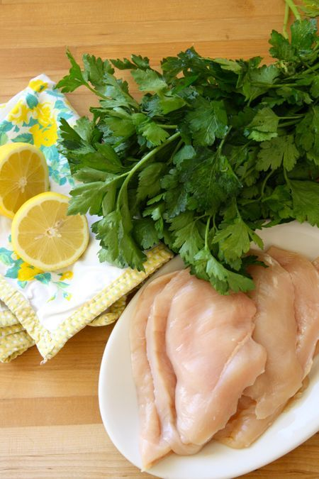Lemon-Parsley Grilled Chicken