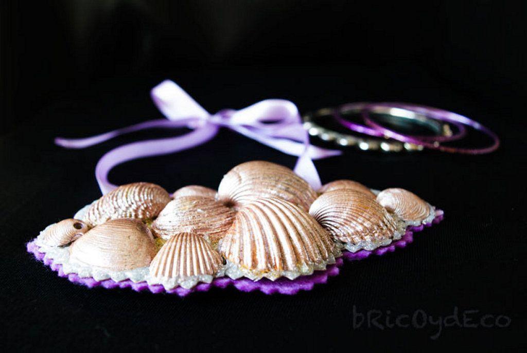 Un collar de conchas diy para los amantes del mar - Como hacer conchas finas ...