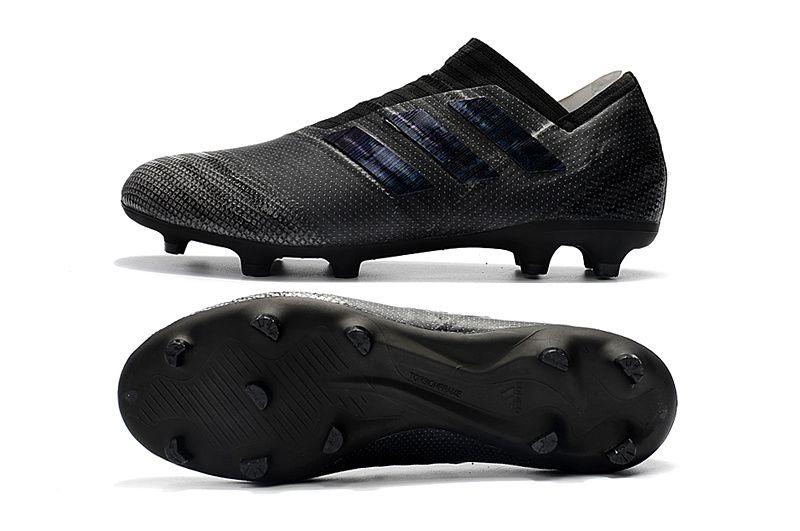 4fc0e8c6cd22 2017-2018 FIFA World CUP New Soccer Cleats Adidas Nemeziz 17+ 360 Agility  FG All Black