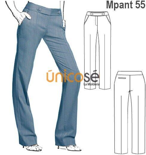 Moldes Unicose Pantalones De Moda Pantalones De Vestir Ropa