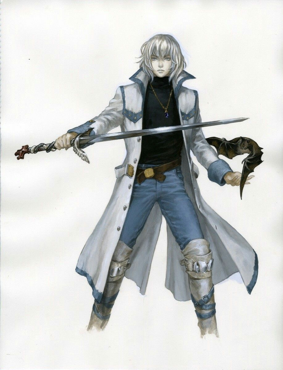 Pin by Dandy Wolf on Castlevania (With images) Anime guys