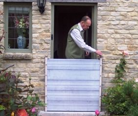 WaterDoor - part of the Caro Flood Protection Products range.