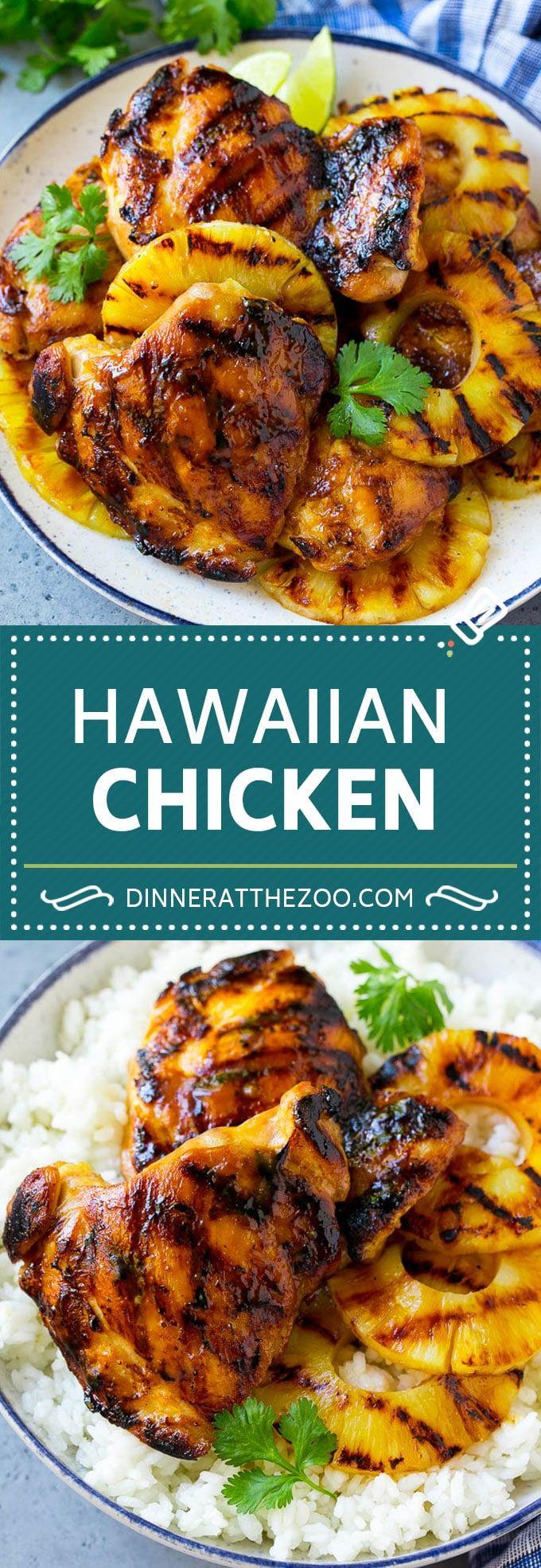 Hawaiian Chicken Recipe | Grilled Chicken | Pineapple Chicken #chicken #grilling #dinner #pineapple #dinneratthezoo #hawaiianfoodrecipes
