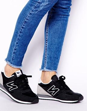 new balance 420 suede mix sneakers