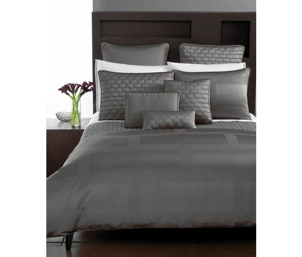 Hotel Collection Frame Duvet Covers Only At Macy S Duvet Covers Bed Bath Macy S Hotel Collection Grey Bedding Bedding Sets