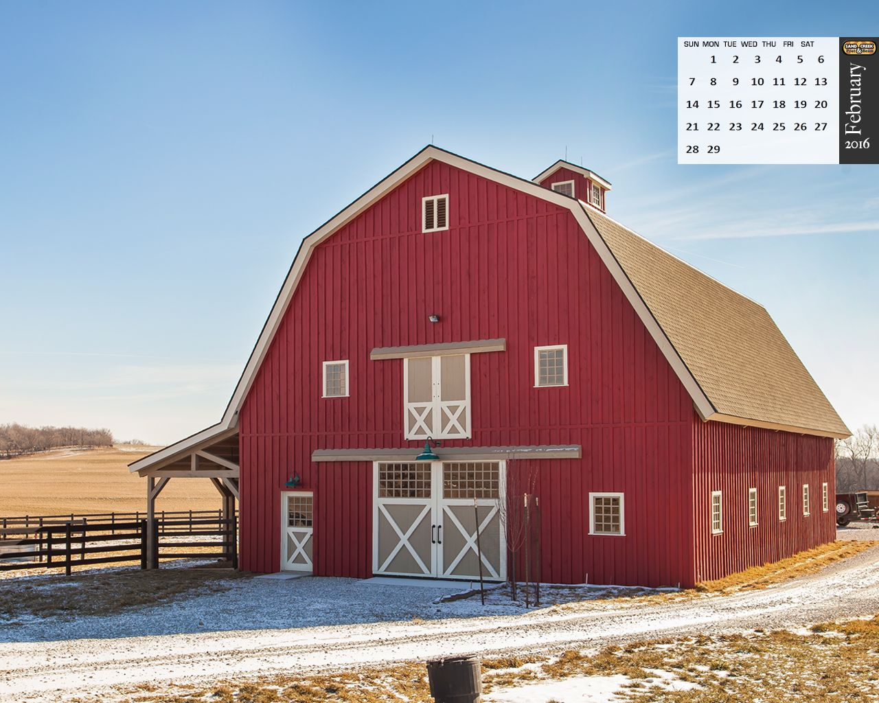 Traditional Wood Barn Great Plains Western Horse Barn: gambrel style barns