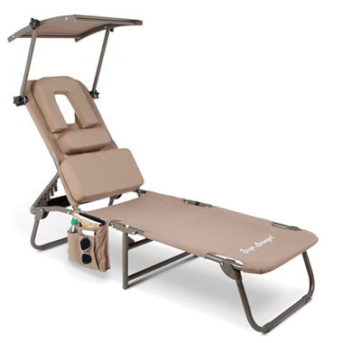 Stupendous The Removable Shade Ergonomic Beach Lounger Gmtry Best Dining Table And Chair Ideas Images Gmtryco