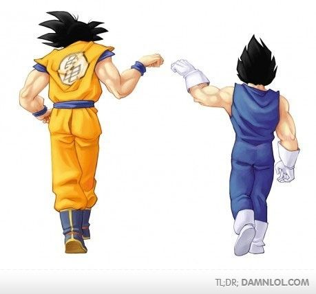 DragonBall Z---ha! fist bump---totally could see this in Return of Cooler!!!!