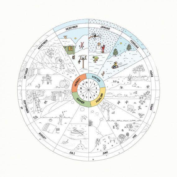 jahreskreis pdf  pdfshop  kalender für kinder