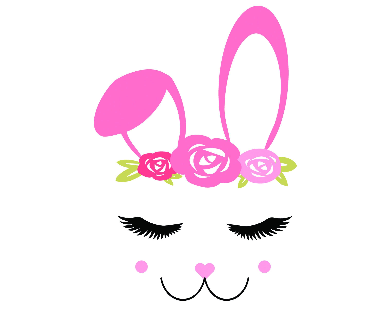 Bunny Face Svg Easter Svg Rabbit Svg Bunny Svg Eps Png Etsy In 2021 Bunny Face Bunny Svg Easter Svg