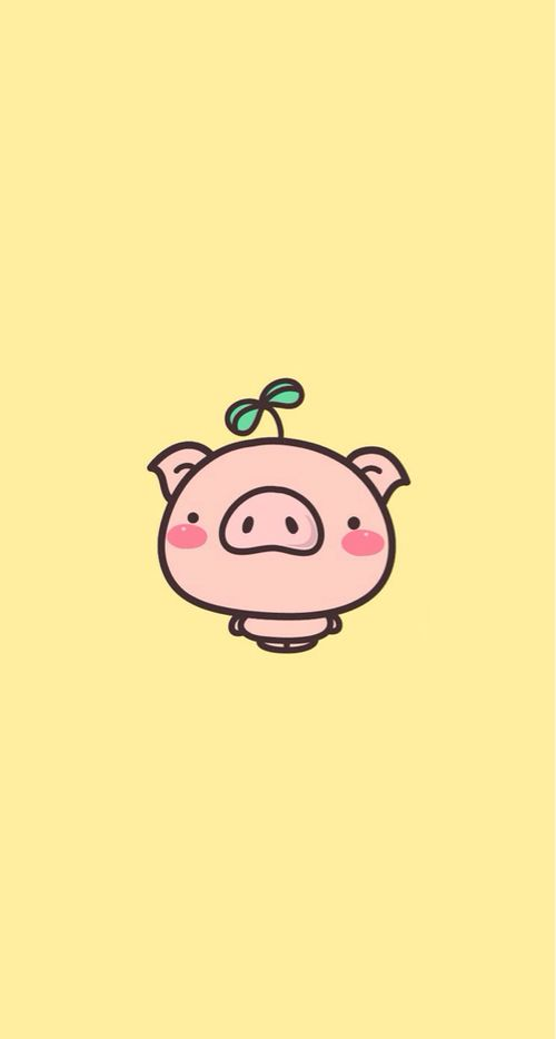 Little Pig Pig Wallpaper Cartoon Wallpaper Pig Cartoon