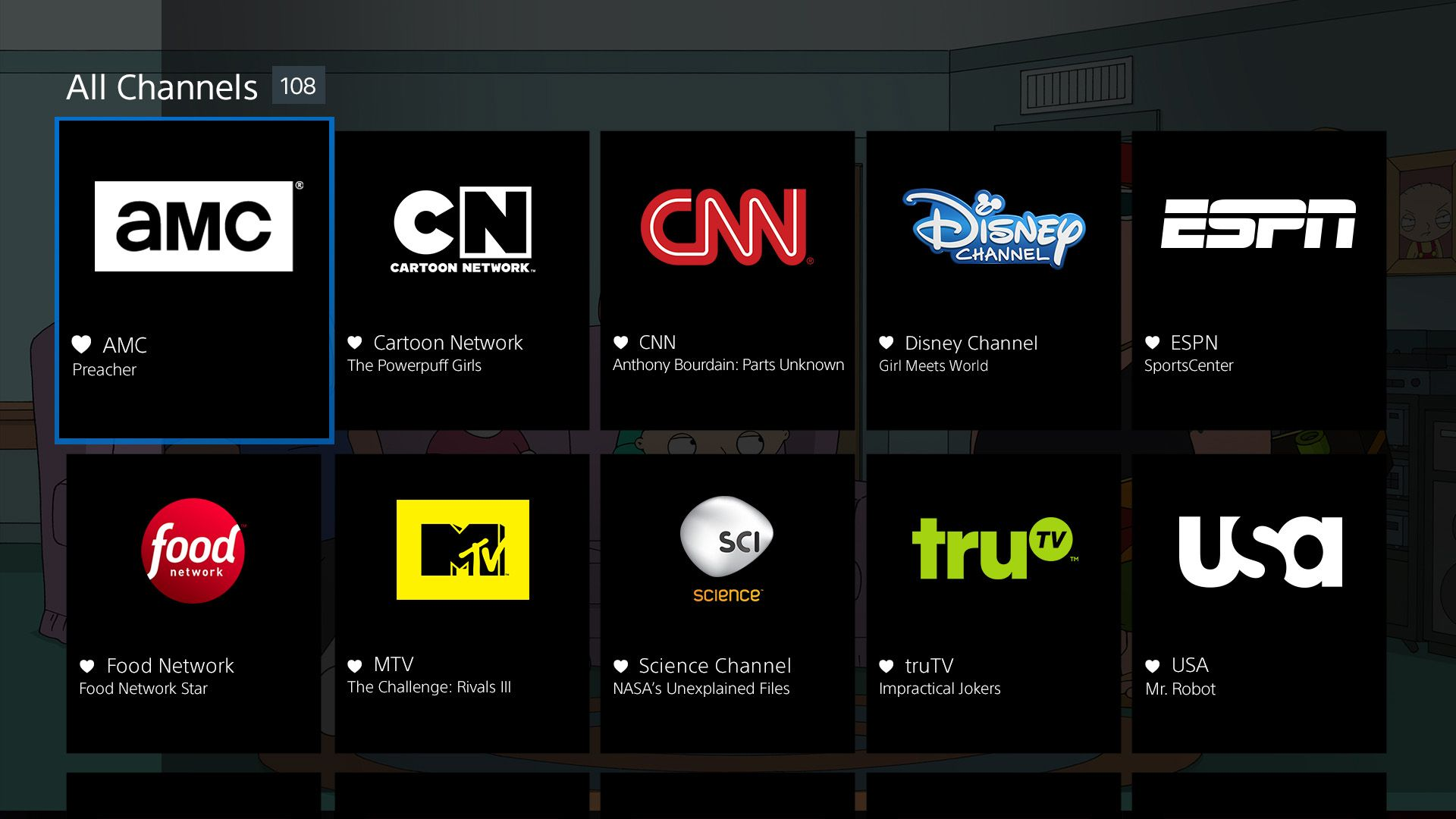 Trying to figure out which channels you can stream without