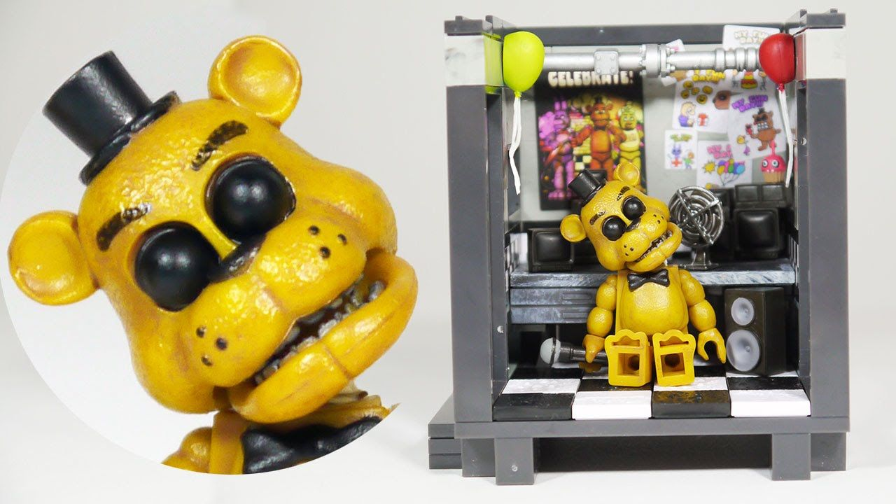 Lego Fnaf  How To Build The Bed