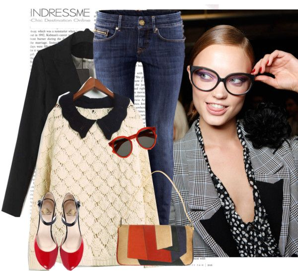 """""""FASHIONABLE INSPIRATION No 17."""" by the-running-verb ❤ liked on Polyvore"""