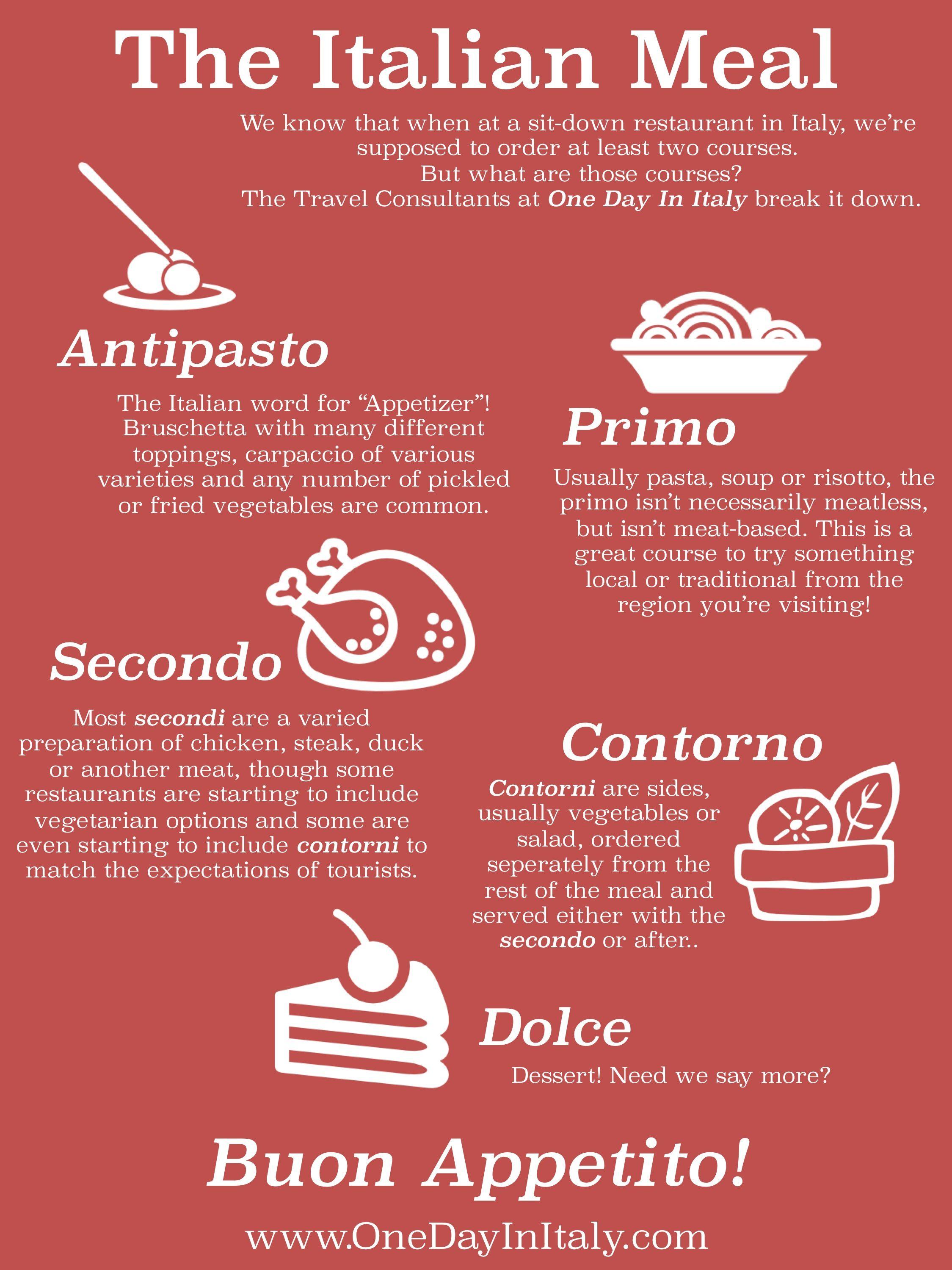 learning italian the italian meal dolce vita italia ��
