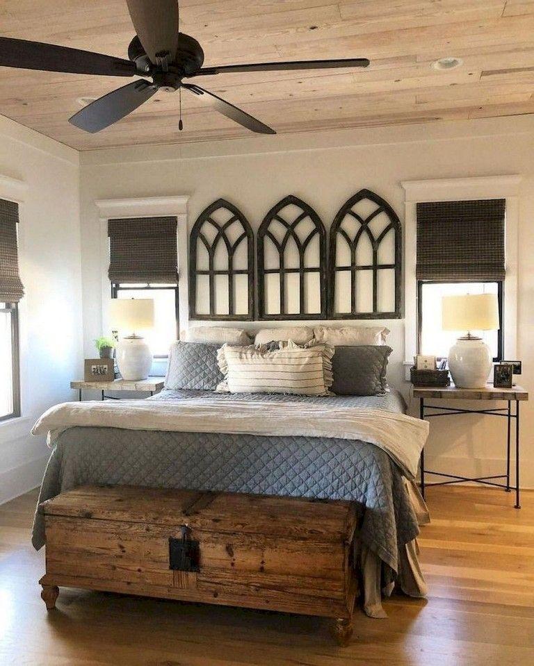 61+ Comfy Modern Master Bedroom for Farmhouse Ideas #modernfarmhousebedroom