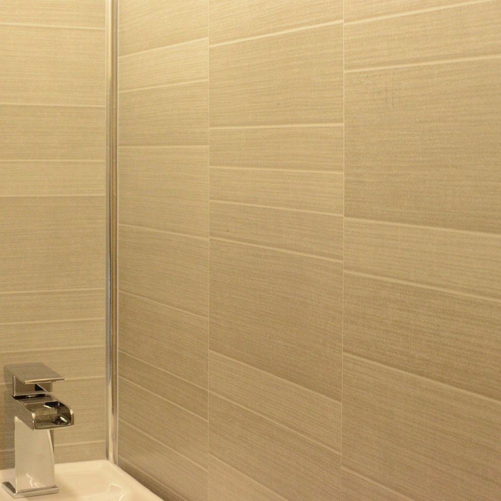 Cladding Panels Caramel Grey Pvc Bathroom Kitchen Shower Wet Wall 10 Panels Cladding Panels Kitchen Shower Cladding