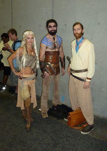 Daenerys, Khal Drogo a...