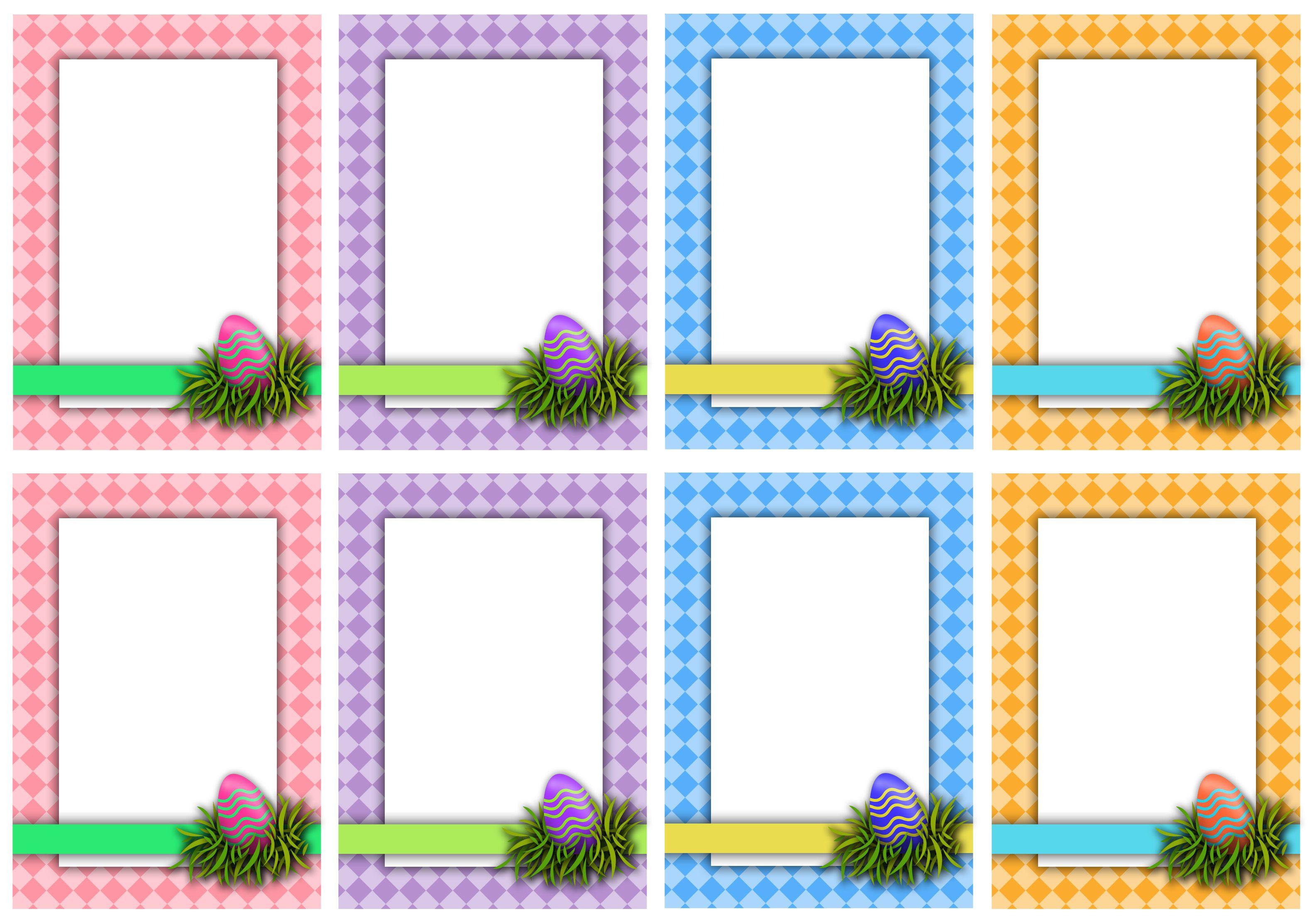 Printable Easter Scavenger Hunt Cards