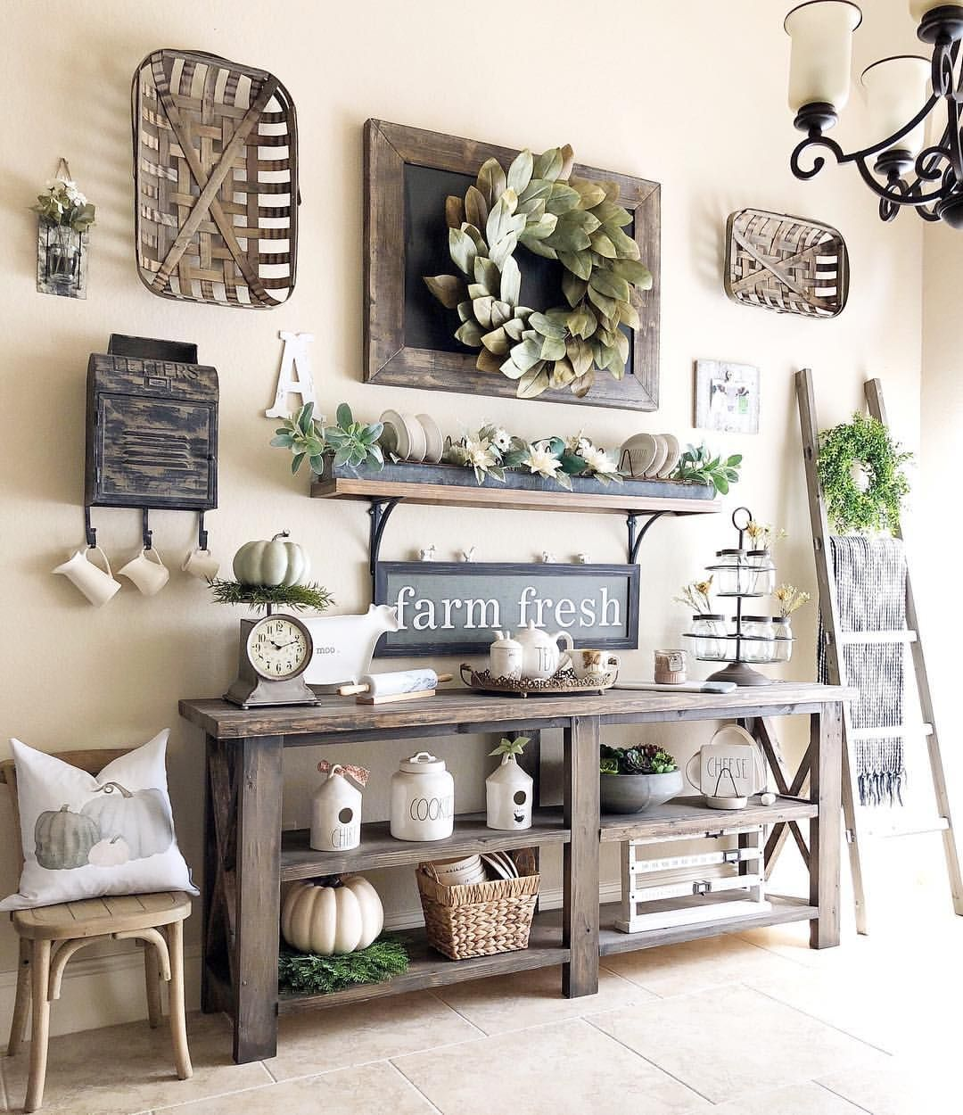 Country Farmhouse Living Room: Pin By Blessedonbluefinch On Blessedonbluefinch In 2019