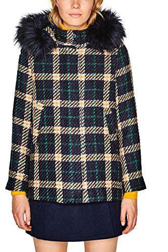 Esprit Damen Mantel Mode Frauen Alltag Mode Frauen Büro Herbst