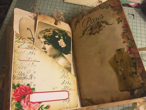 Vintage Journal Handmade Video ausführlich von MyCraftilittlecorner